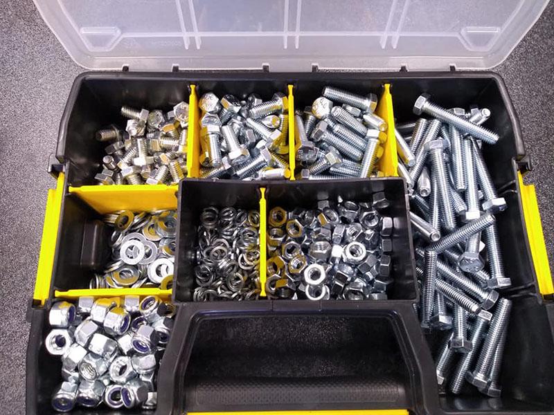 assorted fastener kits